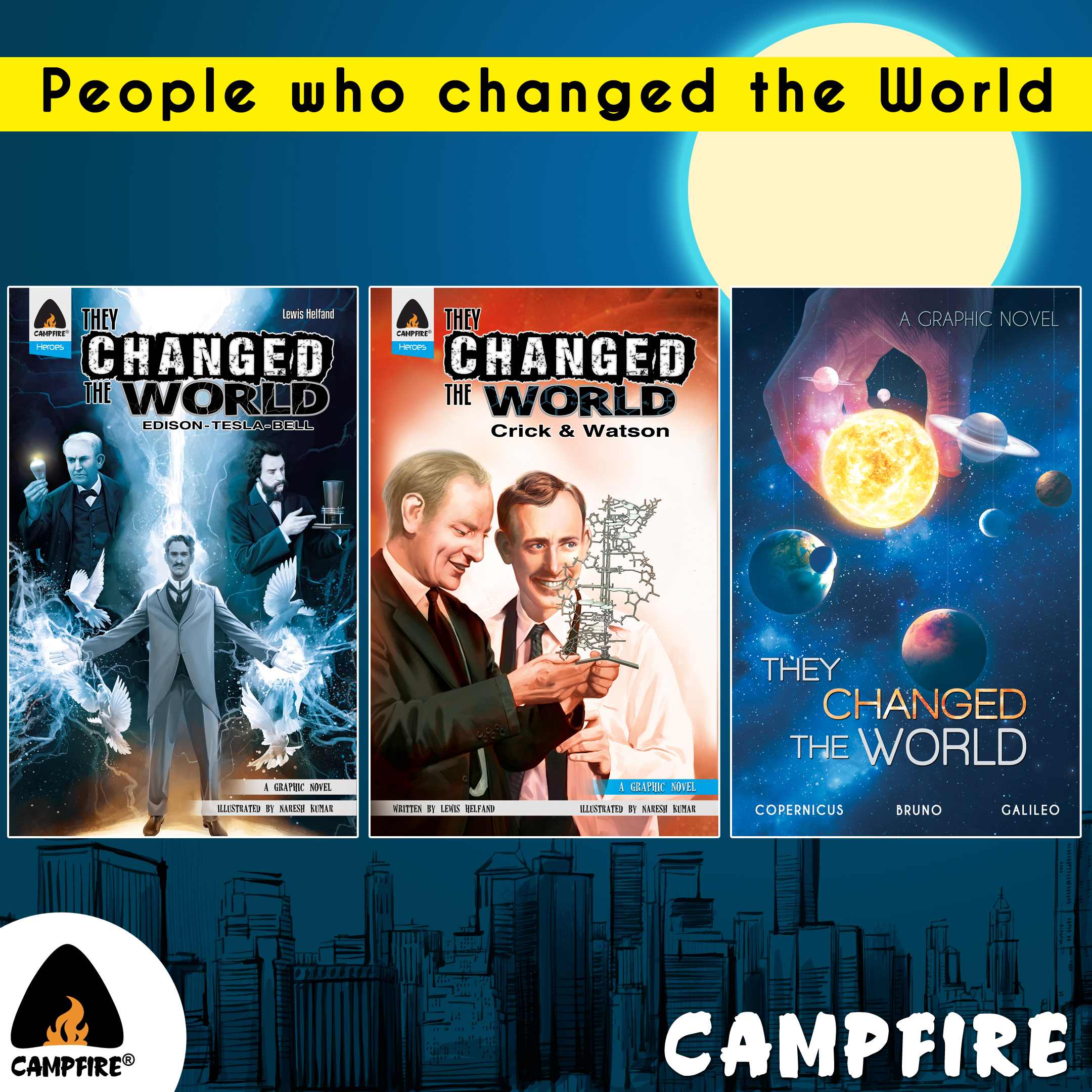 People Who Changed the World (Combo of 3 Books)
