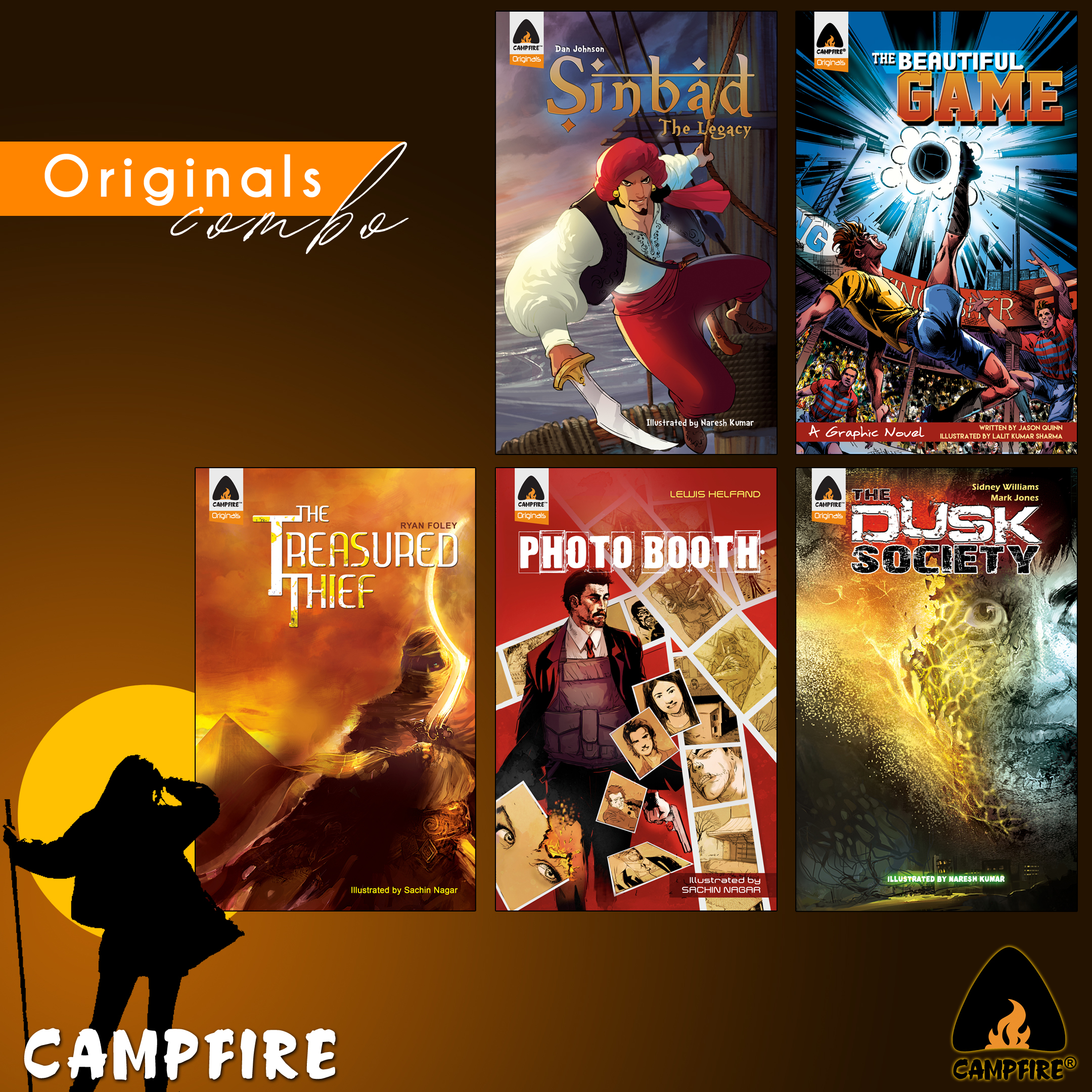 Campfire Originals (Combo of 5 Books)