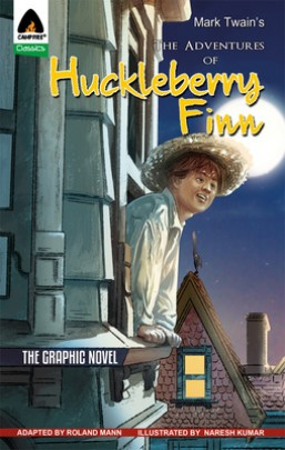The Adventures of Huckleberry Finn (in Hindi)